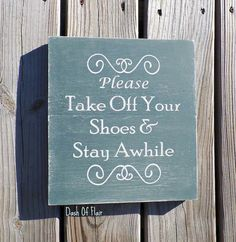 Please Remove Your Shoes, No Shoes Sign, Baby Gift, Gift For New Mom, Housewarming Gift, Gift For Mom, New Parent Sign, Custom Wood Sign