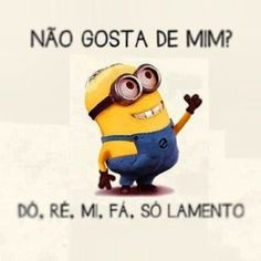 Pois... também eu.!... I Hate Mondays, Cute Minions, Sense Of Life, Minions Quotes, Funny Photos, Cool Words, I Laughed, Haha, Funny Memes