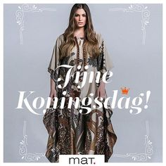 👑 Happy King's Day to all our friends in the Netherlands! Happy King, Mat Fashion, Kings Day, I Amsterdam, Netherlands, Birthdays, Kimono Top, Bohemian, Friends