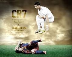 Best Messi VS Ronaldo Wallpapers