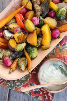 Roasted Seasonal Veggies w/ Elephant Garlic Cream + a Soup! — Candida Cleanse & Update from This week at Nutrition School | The Alkaline Sisters
