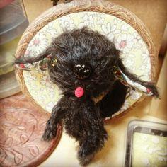 sami doggy - mohair doll