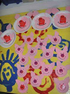Fairy Tale Activities, Three Little Pigs, Wolf, Fairy Tales, Kids Rugs, Stone, School, Carnival, Preschool