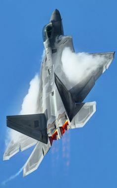 F-22 going ballistic