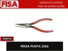 PINZA PUNTA 226G. Mango de plastisol para un mayor agarre- FERRETERIA INDUSTRIAL -FISA S.A.S Carrera 25 # 17 - 64 Teléfono: 201 05 55 www.fisa.com.co/ Twitter:@FISA_Colombia Facebook: Ferreteria Industrial FISA Colombia