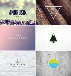 emmadime, logos for michigan lakes    Like, Repin if you like, :)