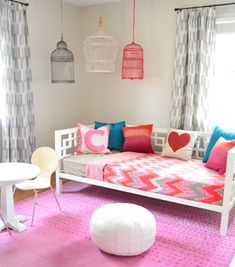 Young House Love - One young family + one old house = love. Such fun colors for a kids play room. So bright and cheery. Young House Love, Kids Decor, Diy Home Decor, Room Decor, Fantasy Bedroom, Girls Bedroom, Lego Bedroom, Childs Bedroom, Kid Bedrooms