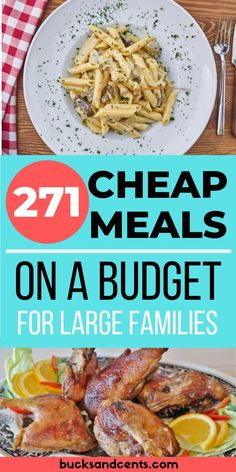 A collection of over 270 cheap meal ideas including American, Italian, and Tex-M. - A collection of over 270 cheap meal ideas including American, Italian, and Tex-Mex dishes. Cheap Meal Plans, Cheap Easy Meals, Inexpensive Meals, Cheap Dinners, Frugal Meals, Budget Meals, Budget Recipes, Cheap Family Meals, Easy Budget