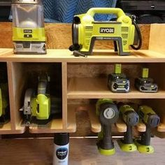 Check out this project on RYOBI Nation - My father and I Love Ryobi Tools....it has been a competition on who has more Ryobi tools in their garage! Well when my father started complaining that he didn't have a place for all his tools, I had the perfect idea for a fathers day gift...The Ryobi Tool Caddy. To build this project I had to use almost all my Ryobi Tools. The hardest part was the edge banding on all the small rounded tool slots, but with multiple attempts and patience I was able ...