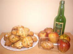galletas de manzana y sidra