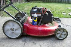 When your lawn mower engine isn't starting or it stops running once you get it started, this often points to a clogged fuel line. A fuel line on a lawn mower connects to the. Lawn Mower Maintenance, Lawn Mower Repair, Removing Lipstick Stains, Wd 40 Uses, Lawn Care Business Cards, Engine Repair, Small Engine, Outdoor Power Equipment, Lawn Equipment