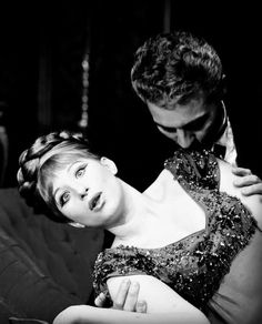 """""""Funny Girl"""" - As Fanny Brice (Barbra Streisand) is seduced by Nick Arnstein they sing """"You Are Woman, I Am Man"""""""