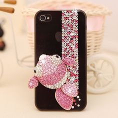 Pink fish Pink Fish, Ipod, Cross Stitch, Iphone Cases, Free Shipping, Future, Crystals, Unique Jewelry, Creative