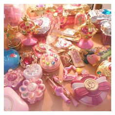 Magical Girl Mahou Shoujo! www.CuteVintageToys.com  Hundreds Of Precious Vintage Toys From The 80s & 90s FOR SALE Now! Use The Coupon Code PINTEREST For 10% Off Your ENTIRE Order!   Dozens of G1 My Little Pony, Polly Pockets, Popples, Strawberry Shortcake, Care Bears, Rainbow Brite, Moondreamers, Keypers, Disney, Fisher Price, MOTU, She-Ra Cabbage Patch Kids, Dolls, Blues Clus, Barney, Teletubbies, ET, Barbie, Sanrio, Muppets, Sesame Street, & Fairy Kei Cuteness....