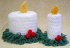 Ravelry: Christmas Toilet Paper Toppers pattern by Maggie Weldon