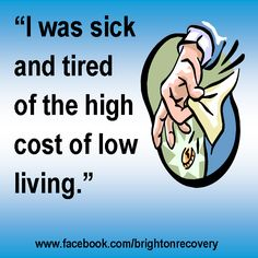 I was sick and tired of the low cost of living