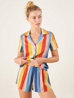 07ce3e9d17 Reformation Short Pajama Set House Dress