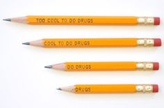From pencils encouraging kids to do drugs to an escalator that leadsyou straight into a wall, we can't believe these epicdesign failsever got made into actual products. #1. Always remember, kids:don't be happy — worry! Reddit #2. An anti-...