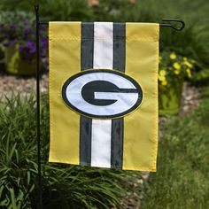ed8350eebdd Green Bay Packers Stripe Garden Flag at the Packers Pro Shop http   www