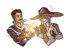 I just loved Dorian and Cole's party interactions, they are just too presh.