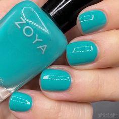 Zoya Nail Polish, Nails, Hair Beauty, Tropical, Make Up, Green, Emerald, Summer, Sea