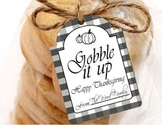 Printable Gobble It Up Thanksgiving Tags, Printable Thanksgiving Gift Tags, Happy Thanksgiving Gift Tags by SUNSHINETULIPDESIGN by sunshinetulipdesign on Etsy https://www.etsy.com/listing/487266771/printable-gobble-it-up-thanksgiving-tags