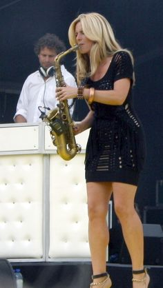 Candy Dulfer...so bad ass :)