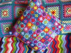 Little Squares cushion | Flickr - Photo Sharing!