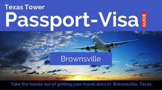 Good morning Brownsville! Need your travel documents such as passport, visa or translations? We're here for you!
