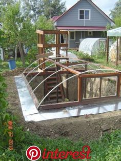 Tips For Gardening Gardening all year is possible with the right greenhouse plans and how to garden in them. It's true that many of the more elegant greenhouses can be costly, so why not get tips for building a greenhouse of your own at half the cost. Diy Greenhouse Plans, Small Greenhouse, Greenhouse Gardening, Greenhouse Wedding, Greenhouse Vegetables, Winter Greenhouse, Dome Greenhouse, Indoor Greenhouse, Farm Gardens