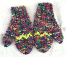 """KNIT WOOL MITTENS Soft Mittens Custom Mittens Hand Knit by Razels Her hand knitted gifts are certainly worth a """"look-see"""" for Christmas gifts!"""