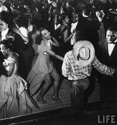 """The Savoy Ballroom,"""" by Gjon Mili. LIFE (1949)"""