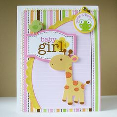 Baby Girl by Kathy Martin for #Doodlebug using Sugar & Spice