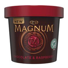 Magnum Chocolate & Raspberry Ice Cream