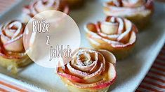 Jablečné růže, růže z jablek / Diy apple roses/ Videorecept - YouTube Doughnut, Muffin, Pudding, Breakfast, Recipes, Food, Youtube, Hampers, Morning Coffee