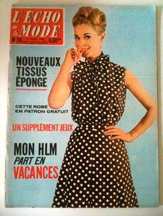 L'echo de la mode n° 28 du 15 Juillet 1962
