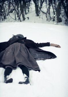 snow angel - Character inspiration #writing #nanowrimo