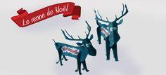 Rennes de Noël à construire - Topaz Communication