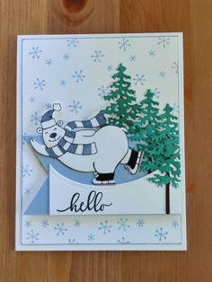 Stampin Up Christmas, Christmas Cards, Xmas, Tedy Bear, Christmas Catalogs, All Things Christmas, Stampin Up Cards, Card Ideas, Stamps