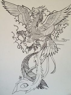 best japanese phoenix tattoo - Google zoeken