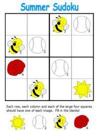 Summer Worksheets for Children Math Resources, Math Activities, Summer Crafts, Summer Fun, Summer Worksheets, Sudoku Puzzles, Summer Activities For Kids, Fun Prints, Templates
