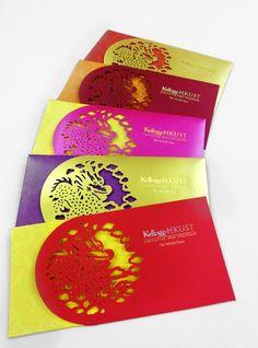 Red Pocket Designs by Teresa Lee, via Behance
