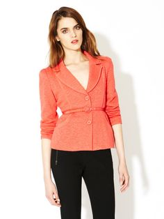 My Song Belted Jacket by Nanette Lepore on Gilt.com