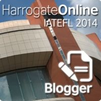 I'll  be at IATEFL 2014 Harrogate ...virtually. Follow registered bloggers