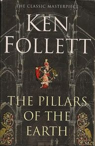 This looks like a genuinely neat itemPillars of the Earth by Ken Follet