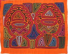 Cultural Mola from Panama