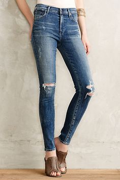 Citizens of Humanity Rocket High-Rise Skinny Jeans - anthropologie.com #anthrofave