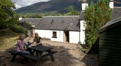 Glencoe Hideaway Ballachulish, Glencoe, Argyllshire (Sleeps 1 - 6), UK, Scotland. Self Catering. Holiday Home. Travel. Garden. Dogs Welcome. BBQ. Walking. Cycling.