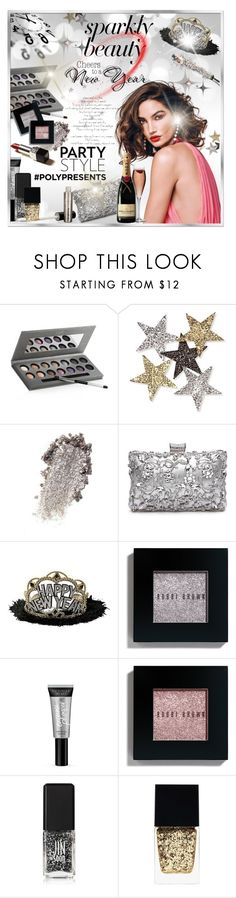 """""""#PolyPresents: Sparkly Beauty"""" by idetached ❤ liked on Polyvore featuring beauty, Laura Geller, Anderson's Belts, TIARA, Bobbi Brown Cosmetics, Victoria's Secret, JINsoon and Witchery"""