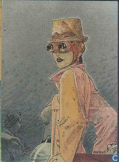 Trading cards - Moebius (collector cards) - Okania